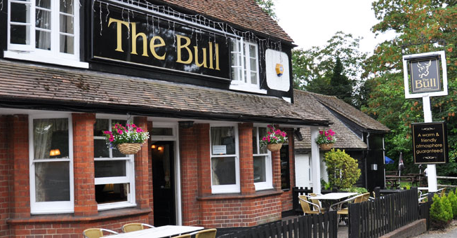 The Bull at Barkham pub quiz
