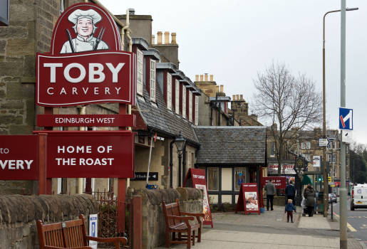 The Toby Carvery Edinburgh West pub quiz