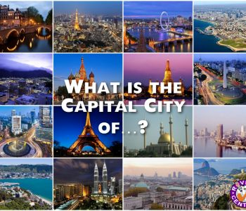 Capital City Quiz Questions