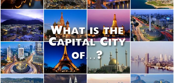 Capital City Quiz Questions