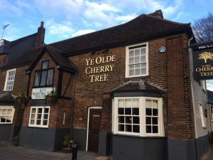 Ye Olde Cherry Tree pub quiz