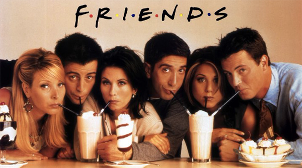 Friends pub quiz game