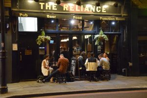 The Reliance pub quiz