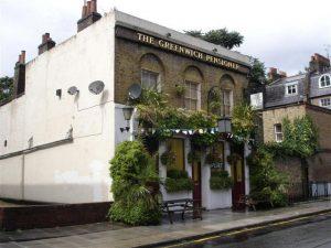 The Greenwich Pensioner pub quiz