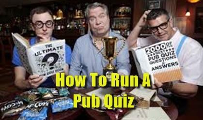 How to run a pub quiz