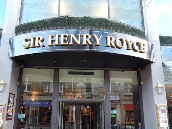 Sir Henry Royce pub quiz