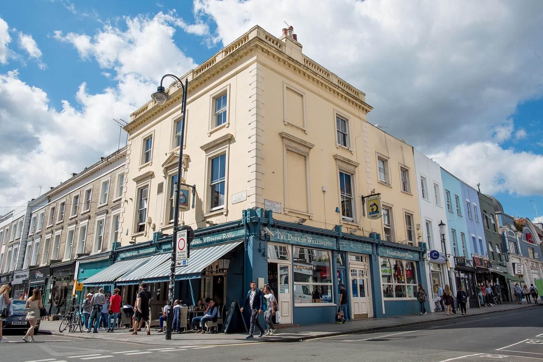 Notting Hill Ladbroke Grove the duke of wellington - notting hill - thursday night pub quiz